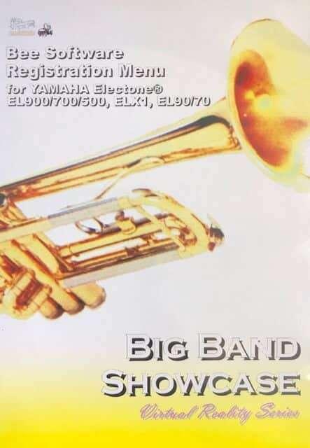Big Band Showcase for Yamaha Electone EL900/700/500, ELX1, EL90/70 - Bee Software