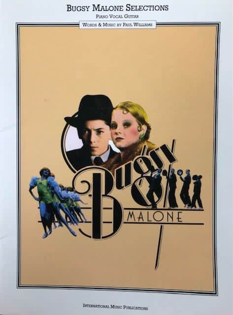 Bugsy Malone Selections - Piano/Vocal/Guitar