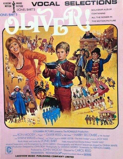 Lionel Bart's Oliver - Piano/Vocal