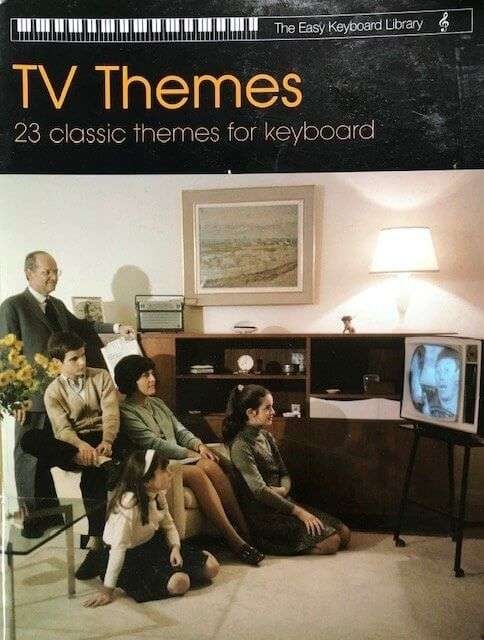 TV Themes 23 Classic Themes for Keyboard - The Easy Keyboard Library