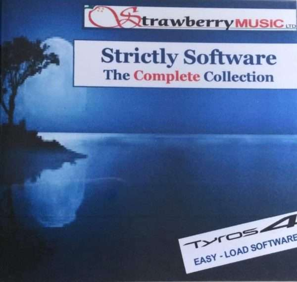 Strictly Software USB The Complete Collection - Tyros 4 - Strawberry Music