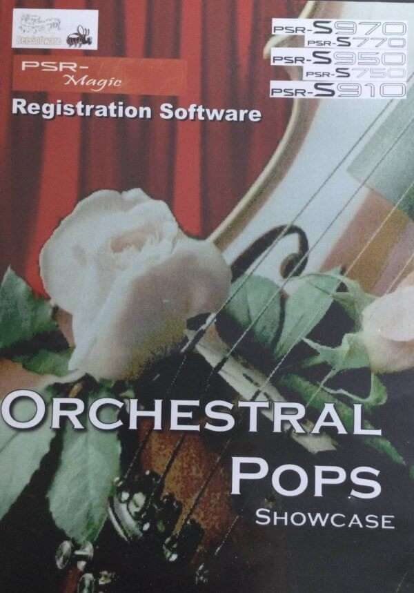 Orchestral Pops Showcase Registrations USB for Yamaha PSR S970/S770/S950/S750/S910 - Bee Software