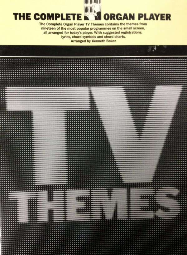 The Complete Organ Player - TV Themes