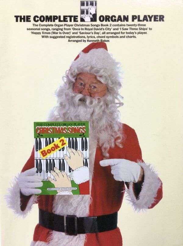 The Complete Organ Player - Christmas Songs Book 2
