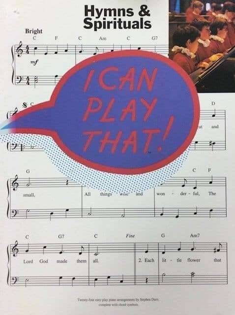 Hymns & Spirituals - I Can Play That - Piano