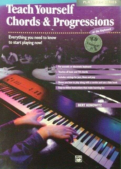 Teach Yourself Chords & Progressions - Piano/Keyboard (with CD)
