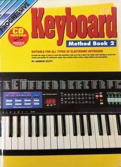 Progressive Keyboard Method Book 2 (with CD)