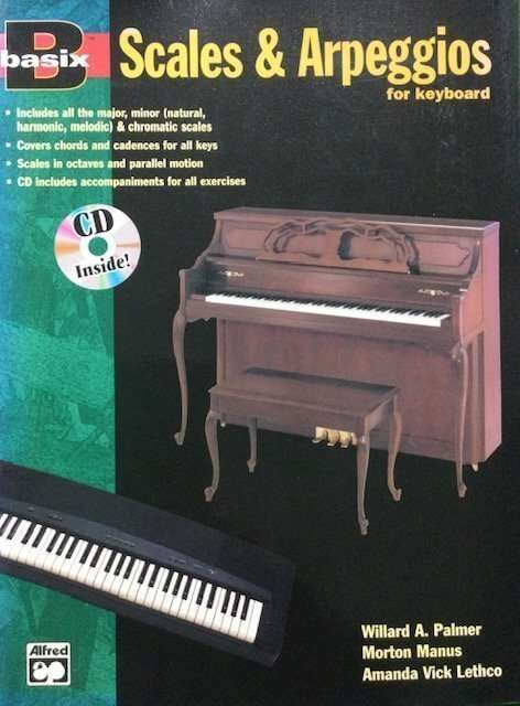 Scales & Arpeggios for Keyboard (with CD)