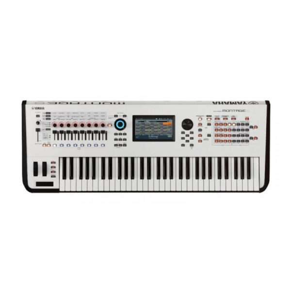 Yamaha Montage 6 in White