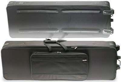 Stagg KTC-133 Soft Keyboard Case with Wheels (Ex Display) - 133 x 48 x 20cm