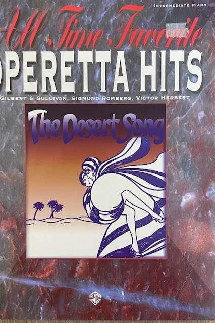 All Time Favourite Operetta Hits - Piano/Vocal