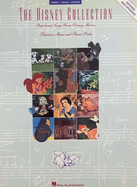The Disney Collection Hal Leonard - Piano/Vocal/Guitar