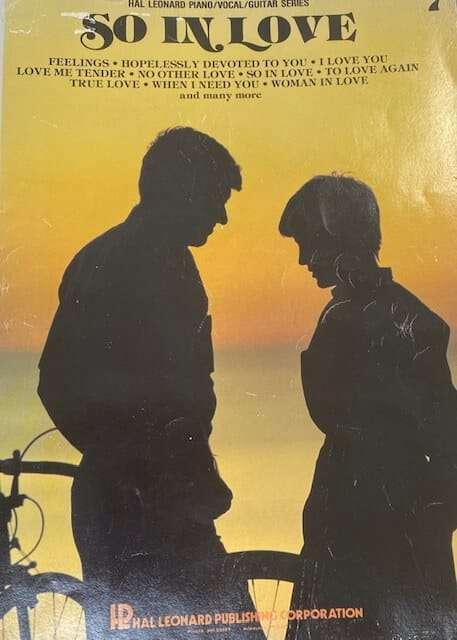 So In Love 7 Hal Leonard - Piano/Vocal/Guitar