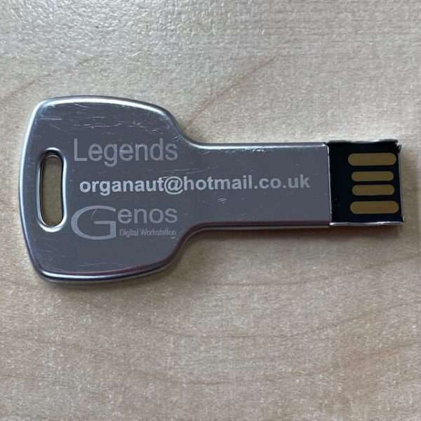 Legends - Genos USB Plug and Play by Organaut