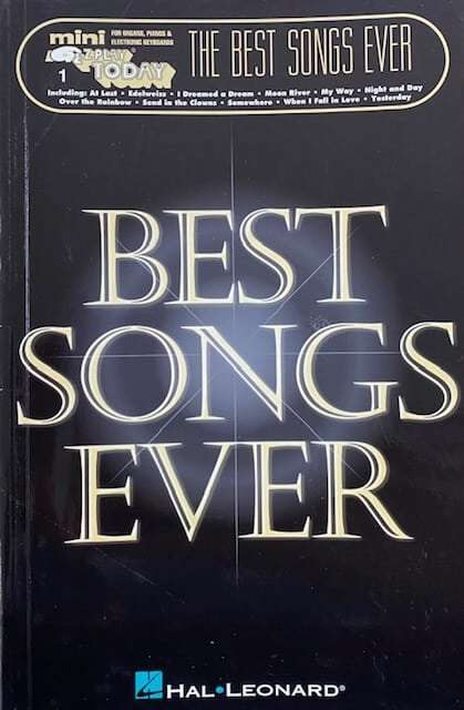 The Best Songs Ever 1 - Easy Play
