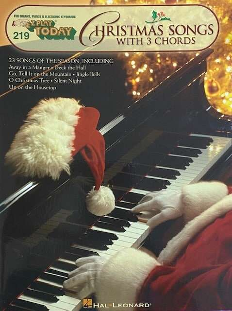 Christmas Songs with 3 Chords 219 - Easy Play