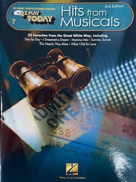 Hits From Musicals 3rd Edition - Easy Play