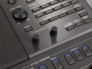 It's mostly plastic knobs and switches, but that's ok for the Yamaha PSR-SX900 price bracket